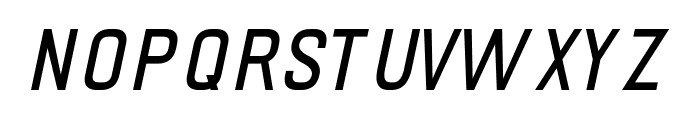 PRIMERA Italic Font LOWERCASE