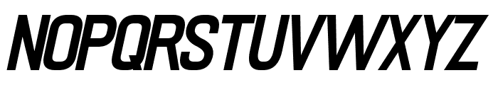 PRIMERA Semi-bold-italic Font UPPERCASE