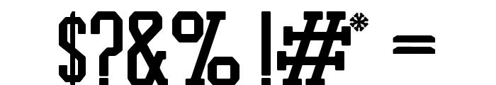 PROMESH Regular Font OTHER CHARS