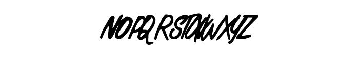 PracticalScript Font UPPERCASE