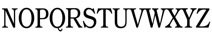 Practiqua Font UPPERCASE