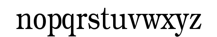 Practiqua Font LOWERCASE