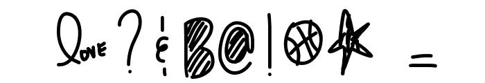 PraduhhTheGreat Font OTHER CHARS