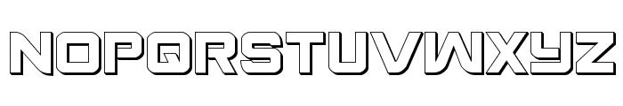 Praetorian 3D Regular Font UPPERCASE