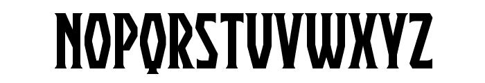 Praetorium BB Font LOWERCASE