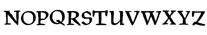 PragRoman Font UPPERCASE