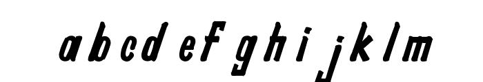 Pragana-s Font LOWERCASE