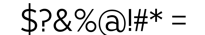 Pragma Sans Font OTHER CHARS
