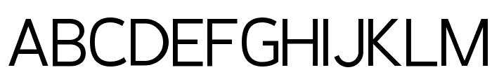 Pragma Sans Font UPPERCASE