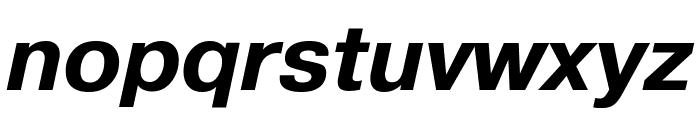 PragmaticaCTT BoldItalic Font LOWERCASE
