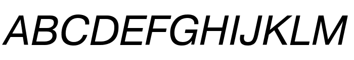 PragmaticaCTT Italic Font UPPERCASE