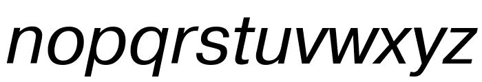 PragmaticaCTT Italic Font LOWERCASE