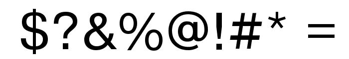 PragmaticaCTT Font OTHER CHARS