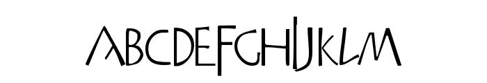 Praitor Font LOWERCASE