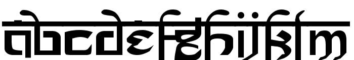 Prakrta Font LOWERCASE