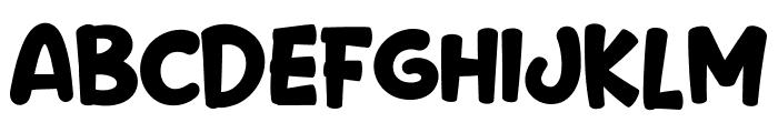 Prancer Deer Font UPPERCASE