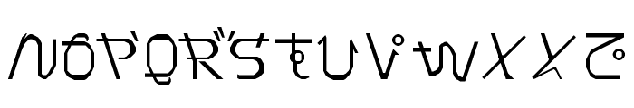 Pray for Japan Regular Font UPPERCASE