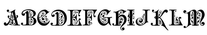 Preciosa Font UPPERCASE