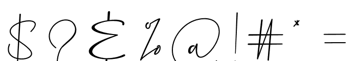 Precious Soul Font OTHER CHARS