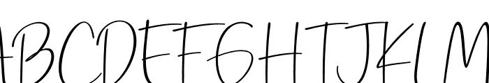 Precious Soul Font UPPERCASE