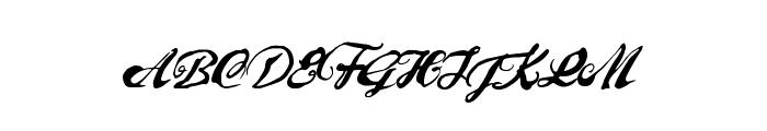PreciousMoments Font UPPERCASE