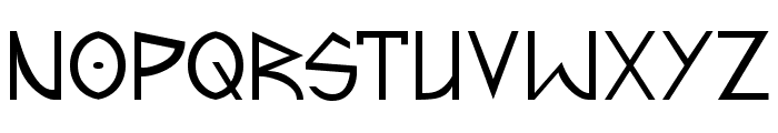 Predacon Beasts Font UPPERCASE