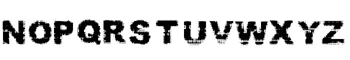 Prefix Font UPPERCASE