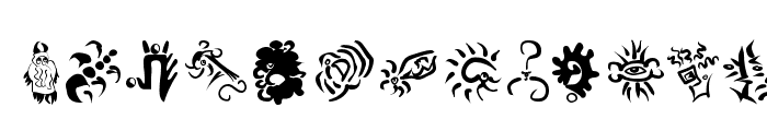 PrehistFantasies Font UPPERCASE