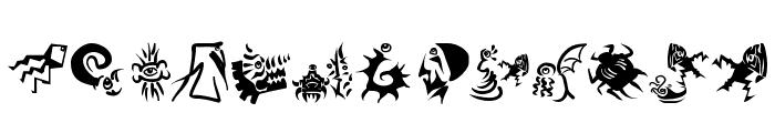 PrehistFantasies Font LOWERCASE