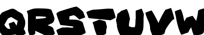 Prehistoric Caveman Font UPPERCASE