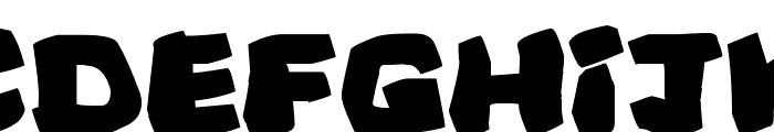 Prehistoric Caveman Font LOWERCASE