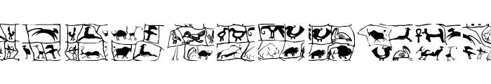 Prehistoric Font UPPERCASE