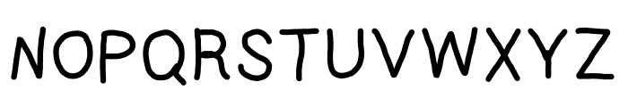Prelude Font UPPERCASE