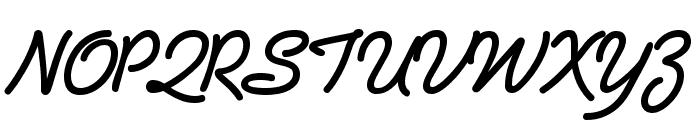 PreludeFLF-Bold Font UPPERCASE