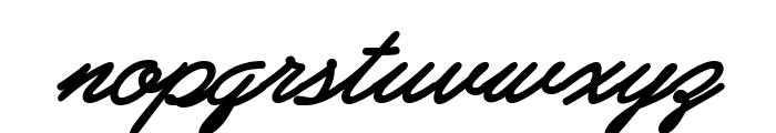 PreludeFLF-BoldItalic Font LOWERCASE