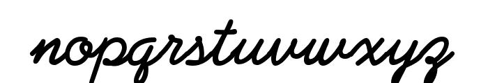 PreludeFLF-Bold Font LOWERCASE