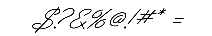 PreludeFLF-Italic Font OTHER CHARS