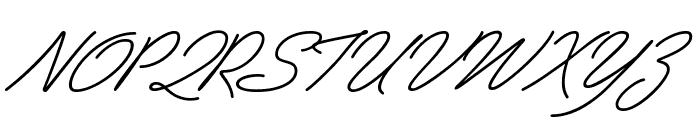 PreludeFLF-Italic Font UPPERCASE