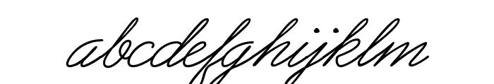 PreludeFLF-Italic Font LOWERCASE