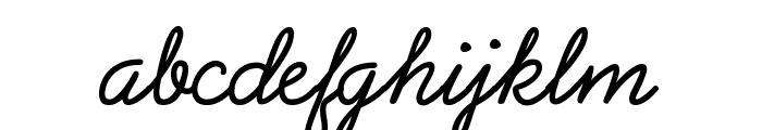 PreludeFLF Font LOWERCASE