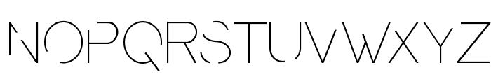 Presa UltraLight ANTIPIXEL.COM.AR Font LOWERCASE