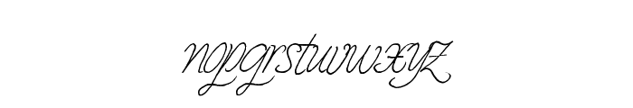 Prescriptivism Font LOWERCASE