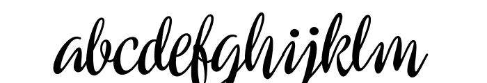 Preside Bold PERSONAL USE ONLY Font LOWERCASE
