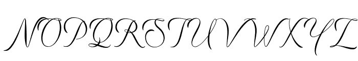 Preside Light PERSONAL USE ONLY Font UPPERCASE