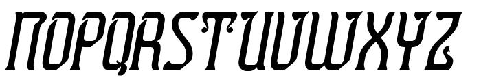 Presidente Tequila Italic Font UPPERCASE
