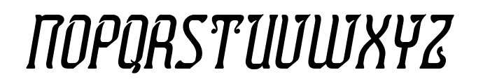 Presidente Tequila Italic Font LOWERCASE