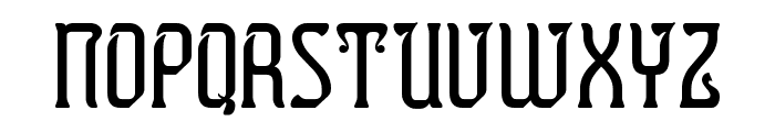 Presidente Tequila Font LOWERCASE