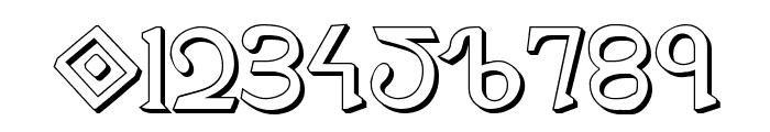 Presley Press 3D Font OTHER CHARS