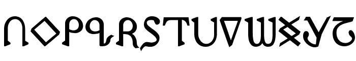 Presley Press Bold Font UPPERCASE