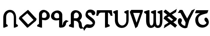 Presley Press ExtraBold Font UPPERCASE